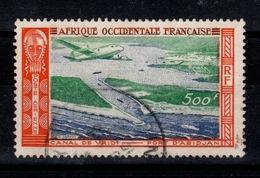 AOF - YV PA 16 Oblitere , Survol Cote 5 Euros - A.O.F. (1934-1959)