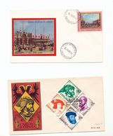 Italy San Marco Spain Carlos I Four Values Special Cancel 1958-68 WYSIWYG A04s - Europe (Other)