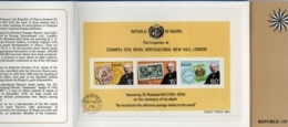 1979, Rowland Hill - Presentation Pack No 4, With Block Issue, Stamps On Stamps - Rowland Hill