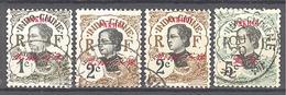Pakhoï: 4 Valeurs De La Serie  Yvert N° 34/37° - Used Stamps