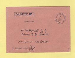 TAAF - Martin De Vivies - 14-5-2003 - Franchise Du Gerant Postal - Terres Australes Et Antarctiques Françaises (TAAF)