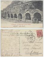 San Gimignano - Le Fonti Presso La Porta Omonim, Viaggiata 1919 (inviata A Fatima Miris) - Autres Villes