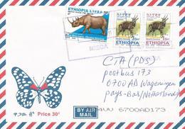 Ethiopia 2011 Miega Rhino Bushbuck Cover - Ethiopië