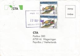 Ethiopia 2000 Melka Sedi Woodpecker Cover - Ethiopië
