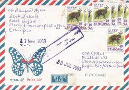 Ethiopia 2003 Mertolemariam Bushbuck Cover - Ethiopië