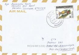Ethiopia 2001 Hurumu Woodpecker Cover - Ethiopië