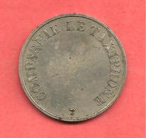 Jeton COMPAGNIE LE TAXIPHONE , N° B2 A , Cupro-Nickel , Diam: 24 - Monétaires / De Nécessité