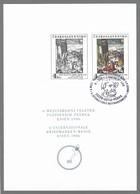 CSSR 1986 Essen Schwarzdruck Der Mi. 2844 PT 16 Mit Marke Sonderstempel MNH O - Prove E Ristampe