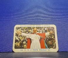 Calendar * 1968 * Portugal * A Confidente * Recordação Da Visita A Fátima De S. S. O Papa Paulo VI - Calendriers