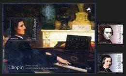 Portugal 2010 Bloc **  + Serie **  Music Musique Chopin Schumann - Nuovi