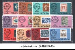 NICARAGUA - 1976 RARE & FAMOUS STAMPS - 12V - MINT NH - Nicaragua