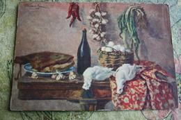 "Alcohol In Art -  *Still Life With Eggs"" - By Konchalovsky - Moldavie"