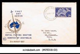 AUSTRALIA - 1957 ROYAL FLYING DOCTOR - FDC - Ersttagsbelege (FDC)
