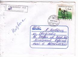 MOLDOVA ,  MOLDAVIE ,  MOLDAU ,  1998 , Football , Used  Cover - Moldova