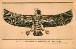 43357071 Egypte Repraesentation Egyptienne De L Ame Ou Ba Egypte - Egypt