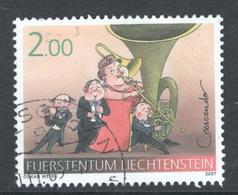 Liechtenstein, Mi  1440 Jaar 2007, Hoge Waarde,  Gestempeld, - Liechtenstein