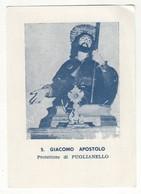 Santino Antico San Giacomo Apostolo Da Puglianello - Benevento - Religione & Esoterismo