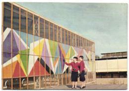 Expo Bruxelles 1958 - Royaume-Uni - Le Pavillon Des Industries Britaniques (façade Sud) - Universal Exhibitions
