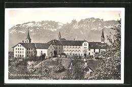 AK Schellenberg, Blick Auf Das Kloster Schellenberg - Liechtenstein