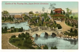 S7354 - Garden Of The Floating Isle Japan-British Exhibition - Expositions