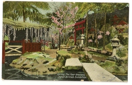 S7358  Spring  - The Four Seasons -Japan-British Exhibition -London - Expositions