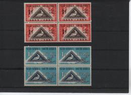 SOUT WEST AFRICA 232/233  (2V EN BLOQUE DE 4) 1953 MICHEL - África Del Sur (1961-...)