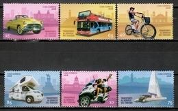 Cuba 2018 / Transport Car Bus Motorcycle Bike MNH Coche Autobús Bicicleta Motocicleta / Cu11700  C3 - Transporte