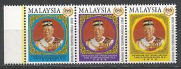 Malaysia 1999. Scott #744 (MNH) Tuanku Salehuddin Abdul Aziz Shah Ibni Al-Marthum Hisamuddin Alam Shah * - Malaysia (1964-...)