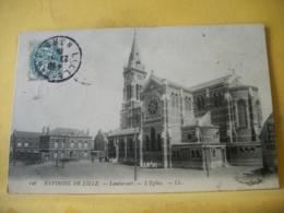 L12 9026 CPA 1904 - 59 ENVIRONS DE LILLE. LAMBERSART. L'EGLISE. - Lambersart