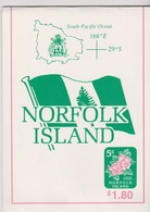 Norfolk Island SB 7 1995 Local Booklet Flowers.mint,A$ 8.00 - Norfolk Island