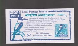 Norfolk Island SB 16 2002 Nuffka Booklet.mint - Norfolk Island