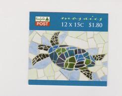 Norfolk Island SB 23 2009 Mosaics Booklet.mint - Norfolk Island