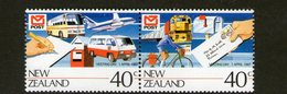 NEW ZEALAND, 1987 VESTING DAY PAIR MNH - Nouvelle-Zélande