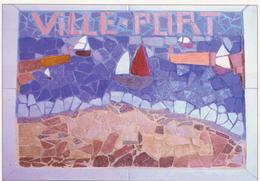 974 - ILE DE LA REUNION - VILLE DU PORT - MOSAIQUE ECOLE RAYMOND MONDON  CM2 B - La Réunion