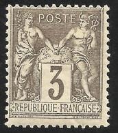 FRANCE --SAGE --TYPE II --1880 MH - 1876-1898 Sage (Type II)