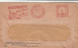 G.B. / London / Advertising / Meter Mail / Electricity / Cooks Travel / Printing - 1902-1951 (Kings)