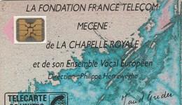 TELECARTE 50....  MECENE DE LA CHAPELLE ROYALE... - France
