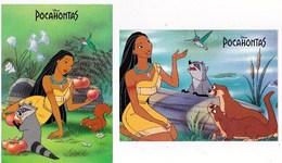 Disney Pocahontas  Lot De 2 TBE - Disney