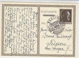 P 278 / 04 Aus BERLIN 20.4.39 SST Nach Füssen - Briefe U. Dokumente