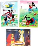 """Disney """"Les Grands Personnages """" 4/4  D580  D720 4/4    'La Belle Et Le Clochard """" D450 5/2 Lot De 3  TBE - Disney"""