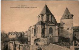 31pks 832 CPA - CHARTRES - ABSIDE DE L'EGLISE SAINT AIGNAN - Chartres