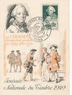 JOURNEE DU TIMBRE 1949 CHOISEUL - France