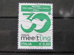 *ITALIA* USATI 2009 - 30° MEETING AMICIZIA RIMINI - SASSONE 3114 - LUSSO/FIOR DI STAMPA - 6. 1946-.. Repubblica