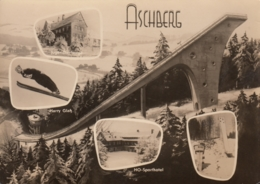 AK - Klingenthal - Aschberg Schanze Mit Harry Glass - Wintersport