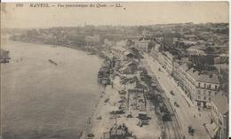 Carte Postale Ancienne De Nantes Vue Panoramique Des Quais - Nantes