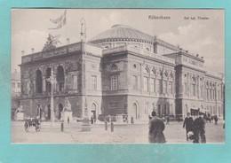Old Small Post Card Of Det Kgl,Theater,Kobenhavn,Copenhagen, Capital Region, Denmark,N48. - Denmark
