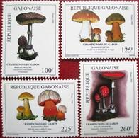 Gabon  Gabonaise 1999  Mushrooms  Pilze  4v  MNH - Champignons