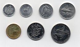 Vaticano - 1977 - Serie Di Monete  Da 1 - 2 - 5 - 10 - 20 - 50 E 100 Lire Papa Paolo VI° - Anno XV° - (MW2070) - Vatican