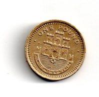 Gibraltar -one Pound - 1988 -voir état - Gibraltar