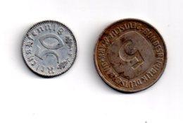 Allemagne - 2 Pièces De 5 Mark De 1975 Et 50 Reichspfennig De 1935 -voir état - Deutschland